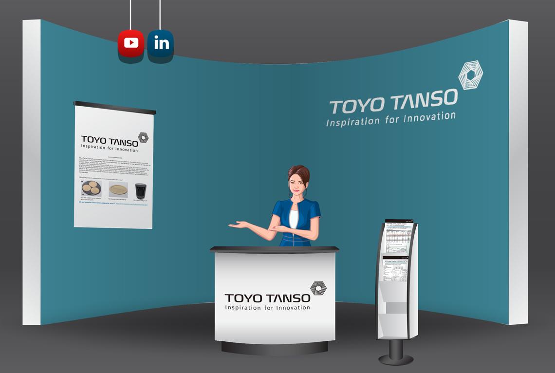 Toyo Tanso virtual booth